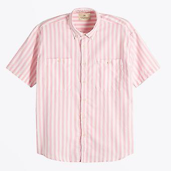 Scotch & Soda  - Cotton Stripe Shirt - Pink