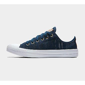 Converse Ctas Ox Navy/Tan/White Womens 560632C Shoes Boots