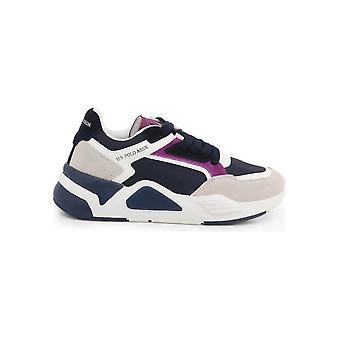 الولايات المتحدة بولو Assn. - أحذية - أحذية رياضية - BELIZ4231W9_NS1_DKBL-FUX - النساء - أبيض، البحرية - الاتحاد الأوروبي 40