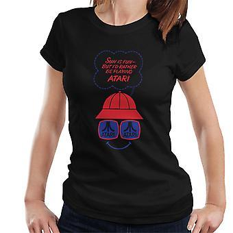 Atari Sun är kul kvinnor & apos; s T-shirt
