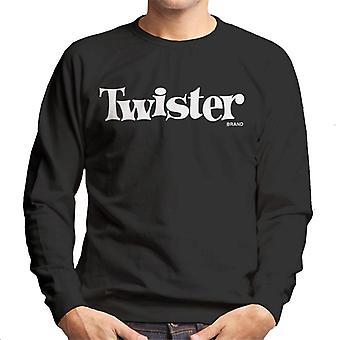 Twister Valkoinen teksti Logo Miehet&s Collegepaita