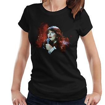 TV kertaa Kate Bushin Live 1978 naisten t-paita