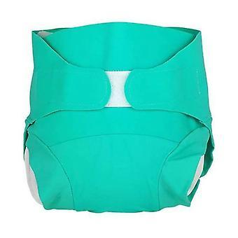 Washable diaper - Cactus Green model - Size S (4-8 kg) 1 unit (S)