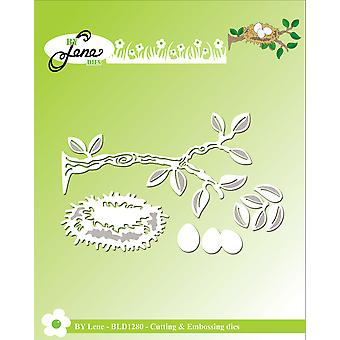 By Lene Branch & Birds Nest Cutting & Embossing Dies