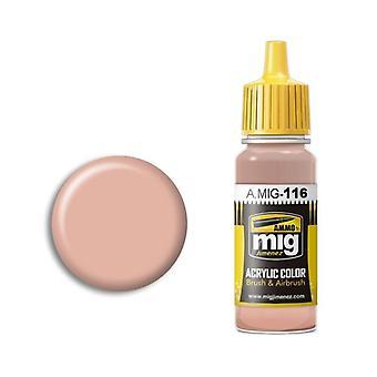 Ammo by Mig Acrylic Paint - A.MIG-0116 Basic Skin Tone (17ml)