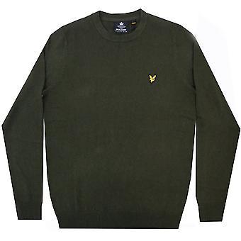 Lyle and Scott Vintage Sweatshirt/Hoodies Crew Neck Cotton Merino Jumper