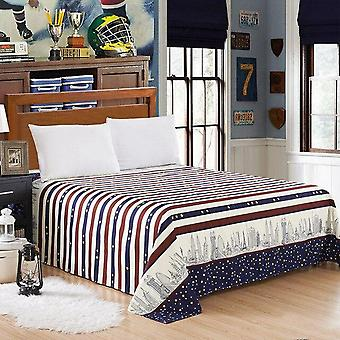 Three Piece Bed Sheet Twill Matte Multi Spec Bedding Set