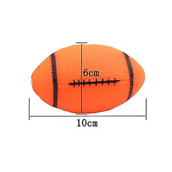 Squeaky Rubber Chew Pet Dog Ball For Small Puppy