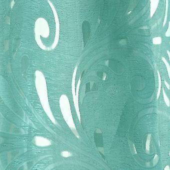 Cortina de ventana semi opaca preparada - telas de panel ciego para la ventana