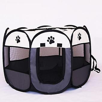 Dog Playpen Tent Crate Room Foldable Puppy Exercise Cat Cage Waterproof Outdoor