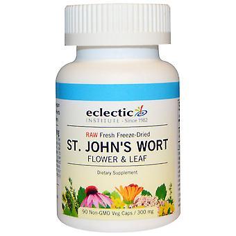 Eclectic Institute, St. John's Wort, 300 mg, 90 Non-GMO Veggie Caps