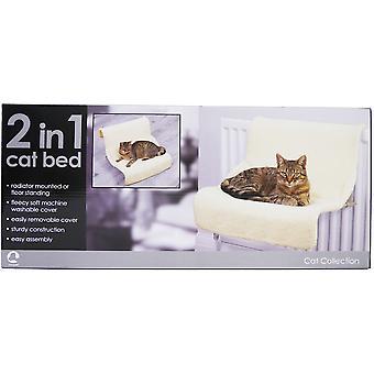 Rosewood Luxury 2-in-1 Cat Bed