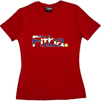 Fitba Rot Frauen's T-Shirt
