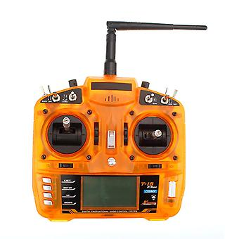 2.4GHz 8CH Transmitter Suitable for glider/helicopter Orange
