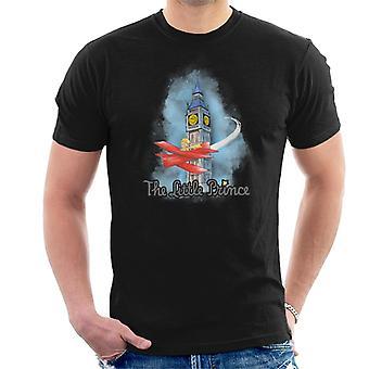 O Pequeno Príncipe Big Ben Plane Men'camiseta