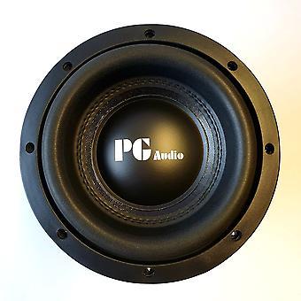 PG Audio Xtreme SPL 08 High End Subwoofer Bashögtalare 20cm 8 tum 1 styck