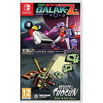Galak-Z The Void & Skulls of the Shogun Bonafide Edition Platinum Switch Game