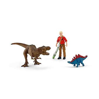 Schleich Tyrannosaurus rex attack for children over 36 months