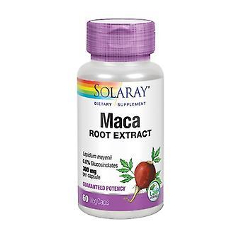 Estratto radice Solaray Maca, 300 mg, 60 tappi
