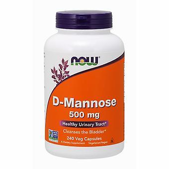 Nyt Foods D-Mannose, 500 mg, 240 Korkkia