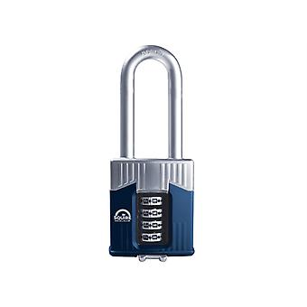 Henry Squire Warrior High-Security Long Shackle Combination Padlock 55mm