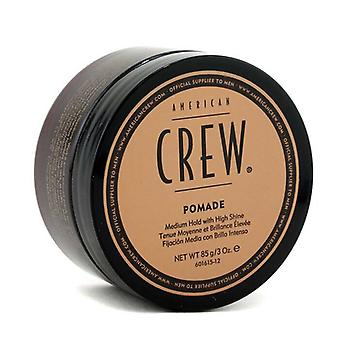 American Crew Men Pomade (Medium Hold with High Shine) 85g/3oz
