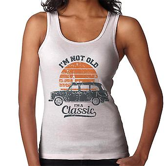 London Taxi Company TX4 Im Not Old Im A Classic Women's Vest