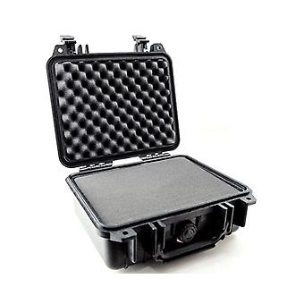 Peli 1200 protective case for pro-grade cameras, ip67 watertight, 12l capacity, made in us, with cus