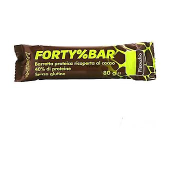 Forty% Bar Pistacchio 80 g
