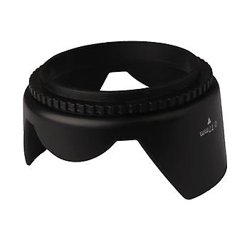 77mm Lens Hood for Cameras(Screw Mount)(Black)