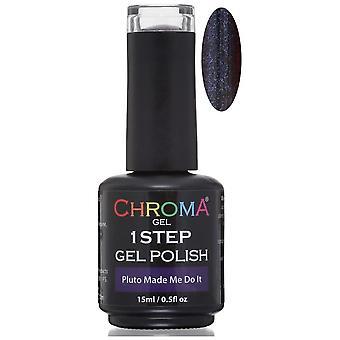 Chroma Gel One Step Gel Polish - Pluto Made Me Do It