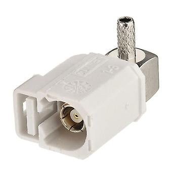 Super Bat B Jack Right Angle Radio com conector coaxial Phantom Crimp Rf