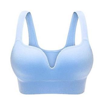 حمالات الصدر المرأة الملابس الداخلية مثير الملابس الداخلية الصلبة سلس دفع حتى القطن قمم Bralette