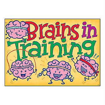 "Brains In Training Argus Poster, 13.375"" X 19"""