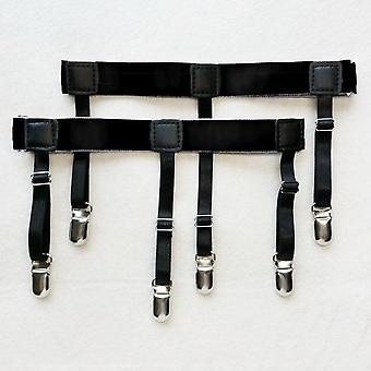 Miesten paita pysyy vyön, liukumaton lukitus clips reisi henkseli