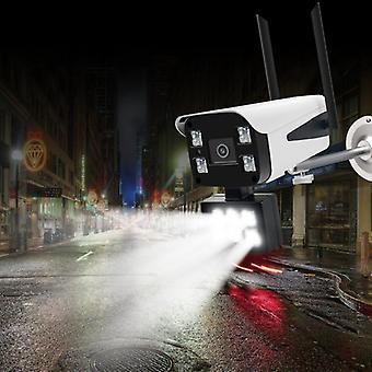 GUUDGO 10LED 1080P trådløs sikkerhet IP kamera WiFi kamera nattsyn full farge utendørs IP66 Wate
