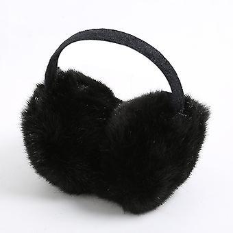 Winter warm Big Earmuff neue Pelz Solide Farbe Erwachsene klassische Abdeckung komfortabel