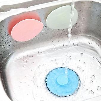 Universal Floor Plug Kitchen Bath Tub Sink Silicone Water Stopper