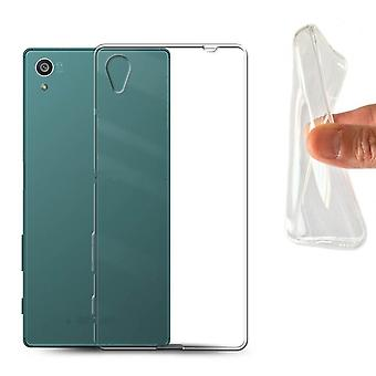 Sony Xperia Z1 Transparent Rubber Shell,
