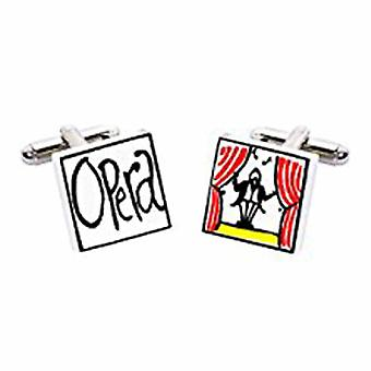 Opera Cufflinks par Sonia Spencer