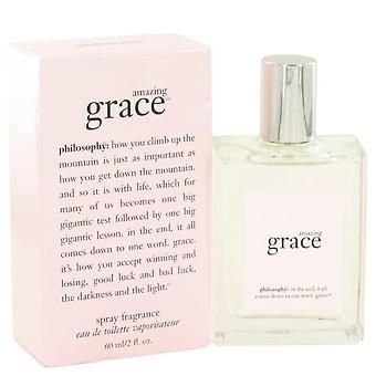 Amazing Grace Eau De Toilette Spray By Philosophy 2 oz Eau De Toilette Spray