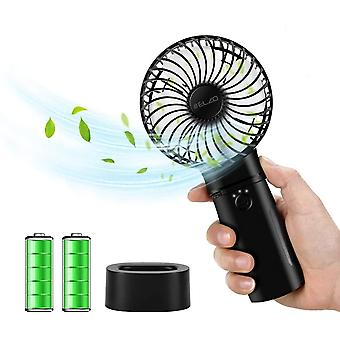 ELZO Handheld Electric Mini Portable Outdoor Fan & Rechargeable 5200mAh Power Bank 2 in 1