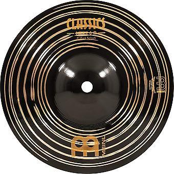Cymbales Meinl 8» splash cymbal - classics custom dark - made in germany, garantie de 2 ans (cc8das)