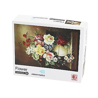 Art puzzle, 1,000 adult paper toys, full color picture of art pattern puzzle
