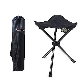 Outdoor folding triangle stool