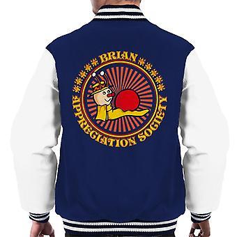 The Magic Roundabout Brian Appreciation Society Men's Varsity Jacket