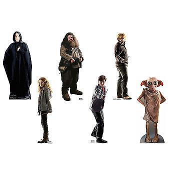 Harry Potter Variety Mini Cardboard Cutout Set av 6