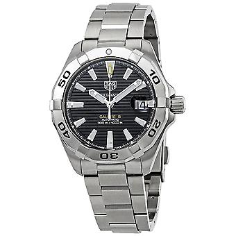 Tag Heuer Aquaracer Automatic Black Sunray Brushed Dial Men's Watch WBD2110.BA0928