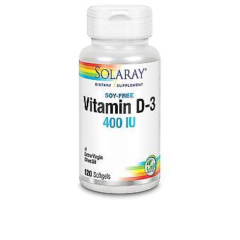 Solaray Vitamin D3 400 Ui-120 Perlas Unisex