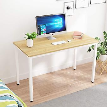 HanFei Schreibtisch Computertisch Brombel PC Tisch, 120x60cm Brotisch Arbeitstisch estisch aus Holz